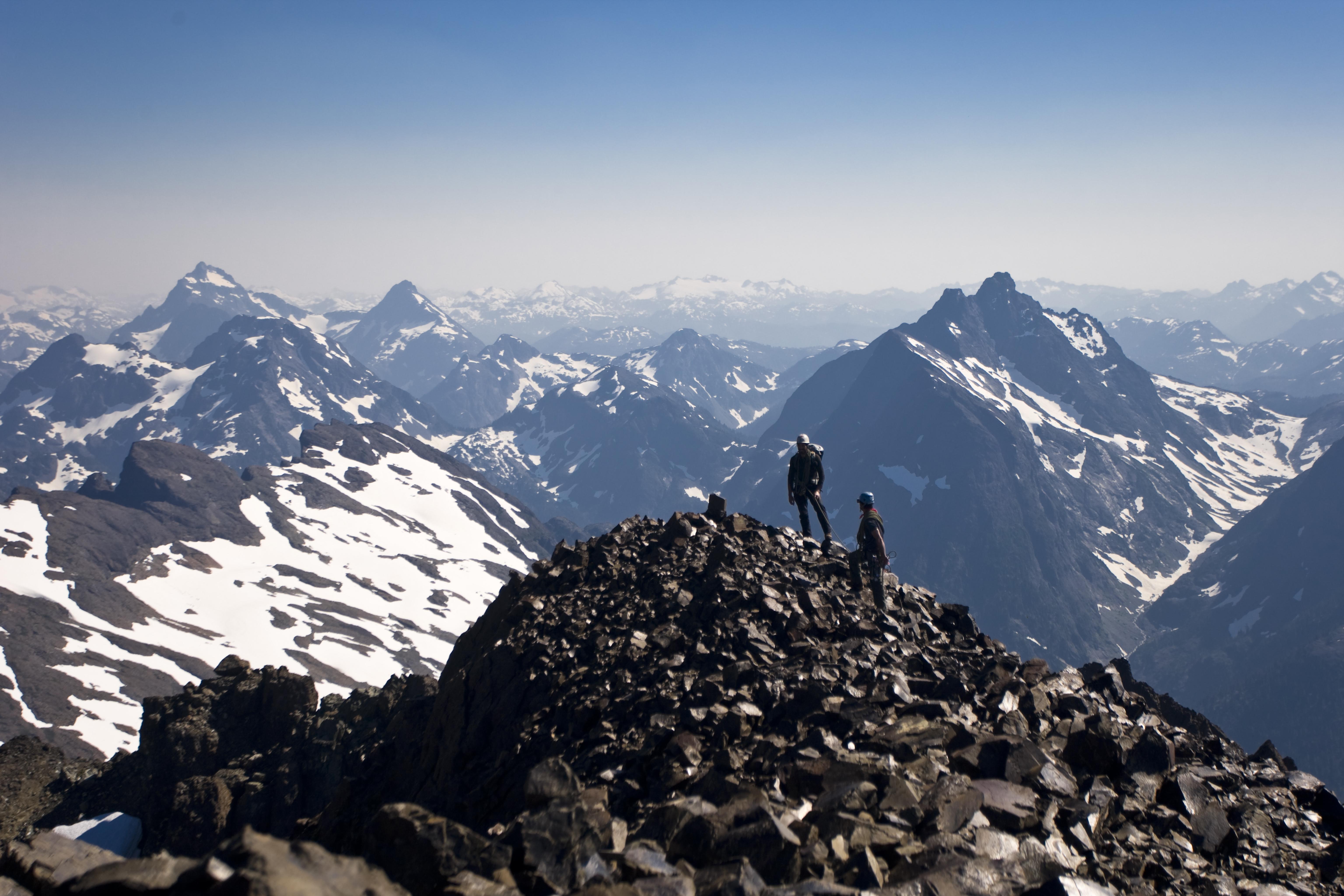 Summitting Elkhorn Mtn.